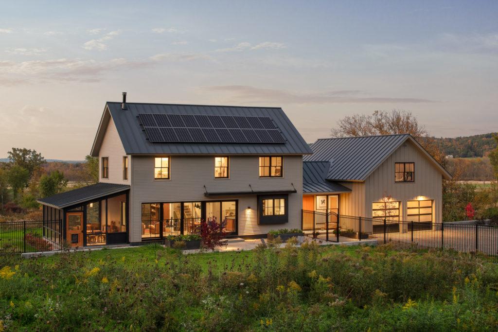 Net Zero Farmhouse Joan Heaton Architects